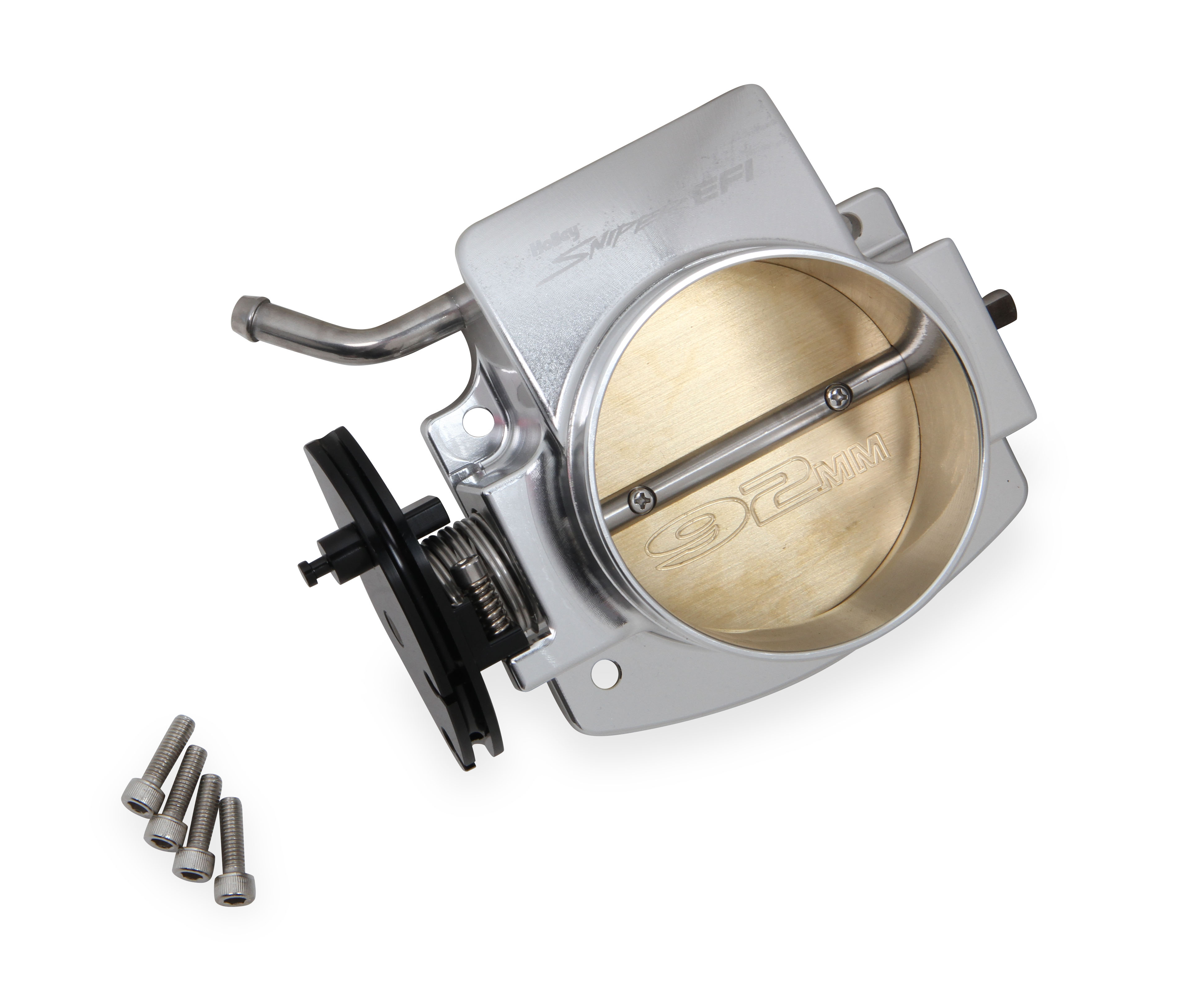 LS1 Holley 92mm Sniper EFI Throttle Body - Silver