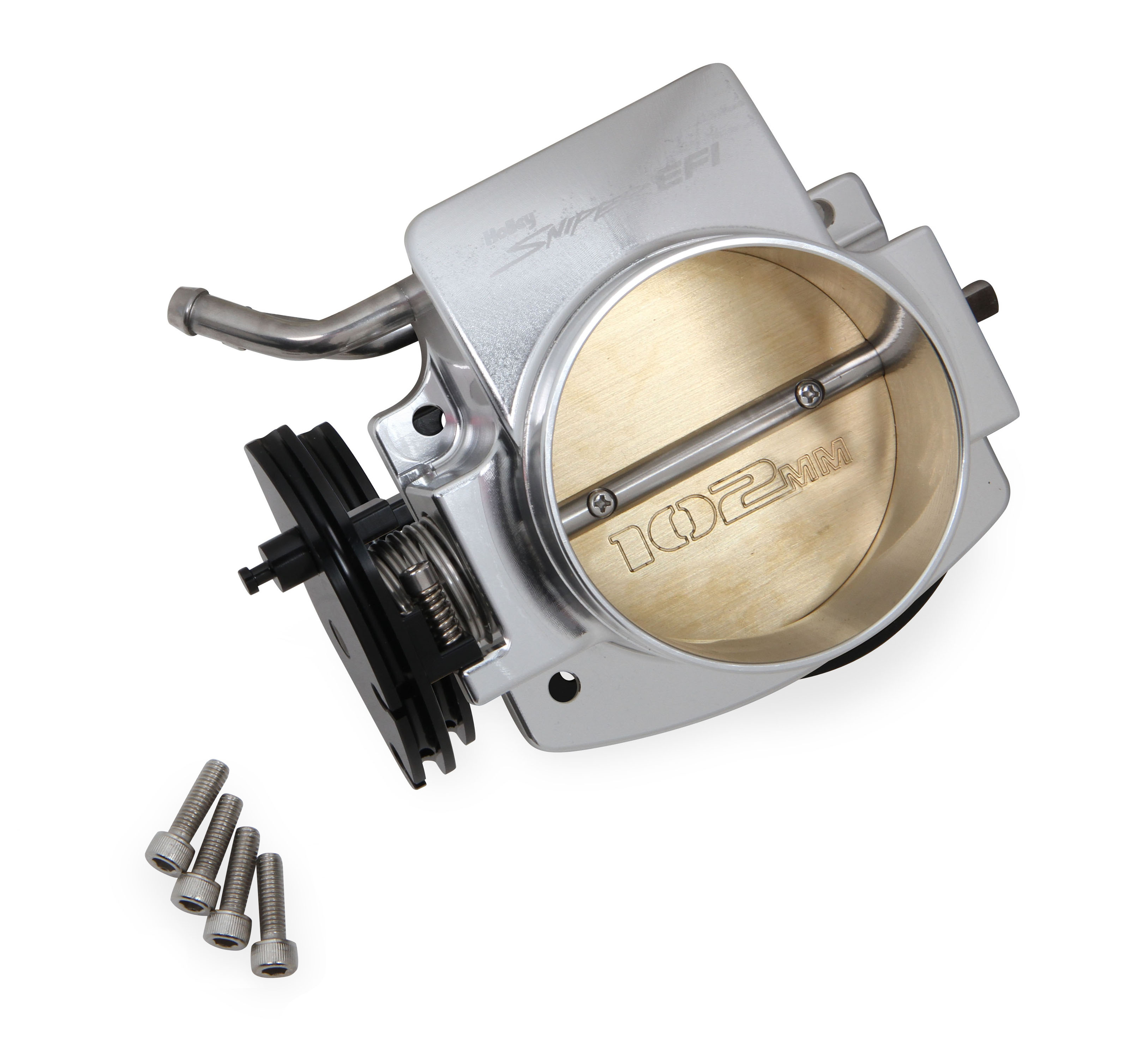 LS1 Holley 102mm Sniper EFI Throttle Body - Silver