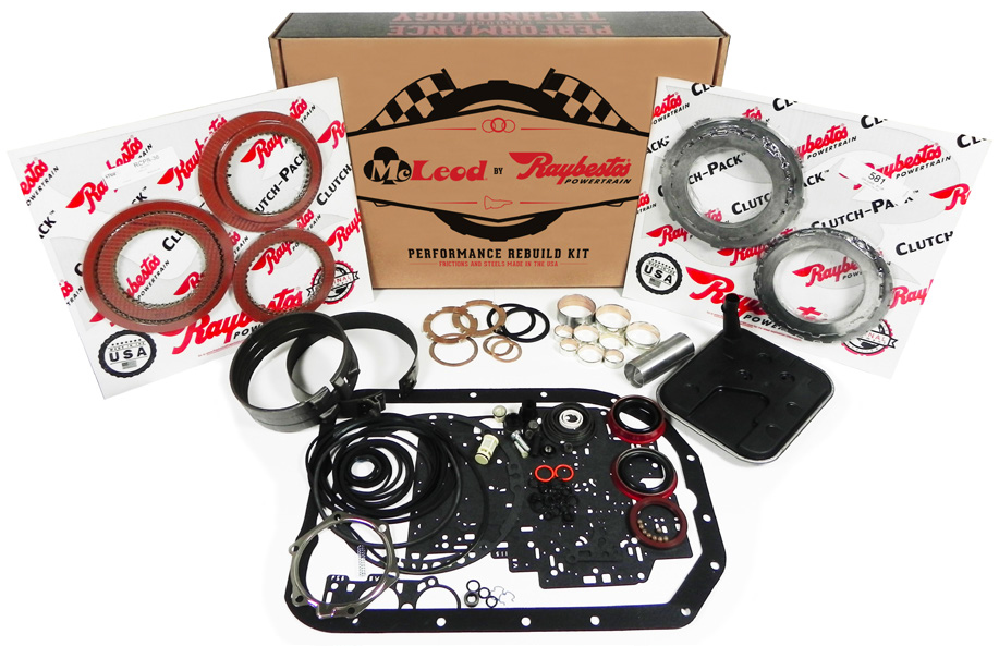 1997-2011 GM 4L80E McLeod Industries Automatic Transmission Rebuild Kit - Stage 1 w/Kolene Steels
