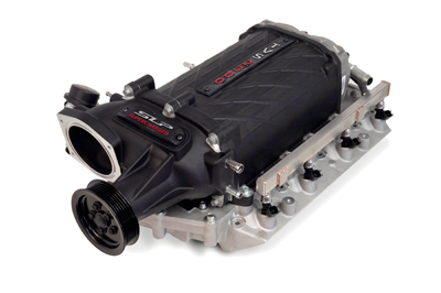 2010+ Camaro SS SLP Performance TVS 2300 Supercharger Kit - 550HP/575HP Stage 1 (Black Finish)