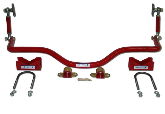 82-02 Fbody Spohn Pro-Series Rear Drag Sway Bar