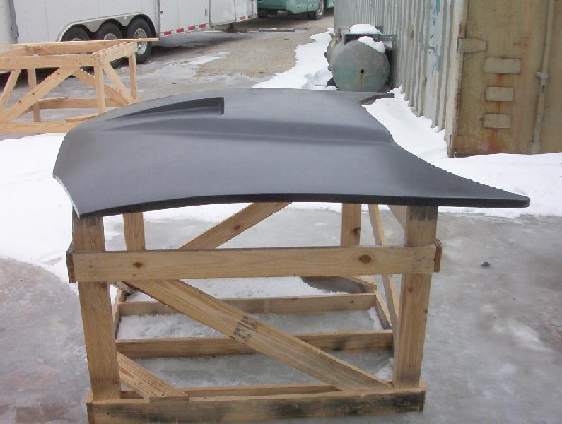 93-97 Camaro SS Style Hood (Pin On)