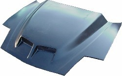"93-97 LT1 Pontiac Firebird VFN Fiberglass 4""  Ram Air Bolt On Hood"