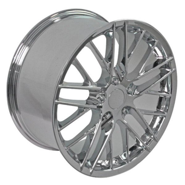 "OE Wheels Corvette C6 ZR1 Replica Wheel - Chrome 17x9.5"" Set (54mm Offset)"