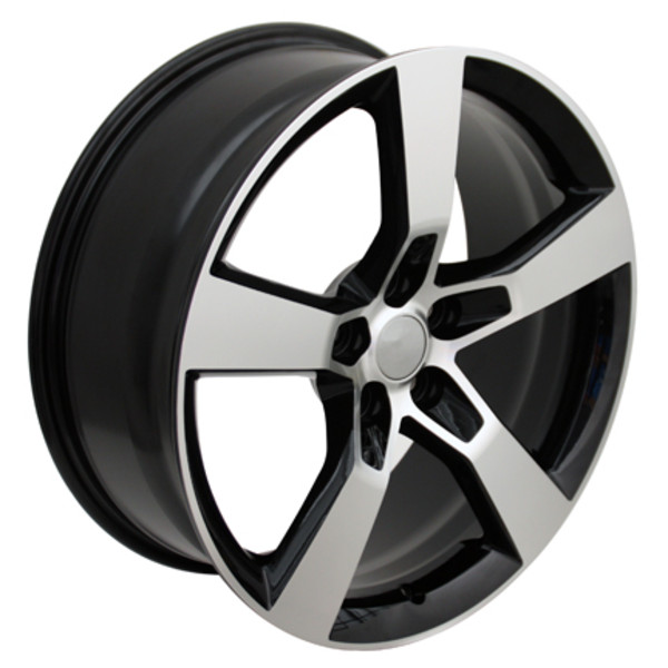"OE Wheels Camaro SS Replica Wheel - Black 20x9"" (40mm Offset) Set of 4"