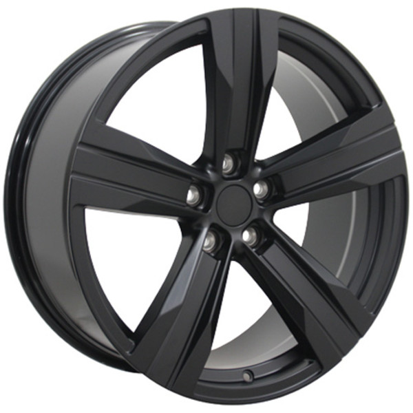 "OE Wheels Camaro ZL1 Replica Wheel - Satin Black 20x8.5""/20x9.5"" (35mm/40mm Offset) Set of 4"