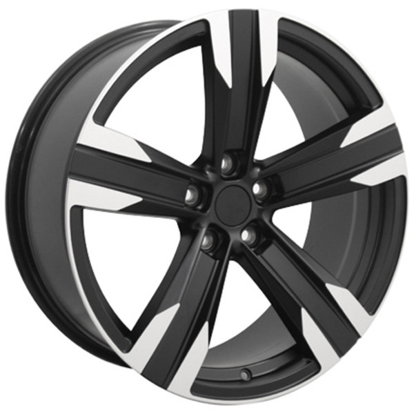 "OE Wheels Camaro ZL1 Replica Wheel - Matte Black w/Machined Face 20x8.5"" (35mm Offset) - Set of 4"