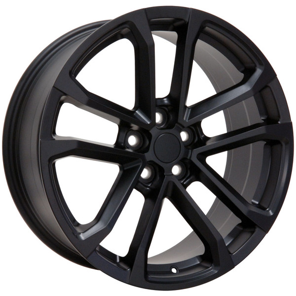 "OE Wheels Camaro ZL1 Replica Wheel - Satin Black (20x8.5""/20x9.5"" 35mm/40mm Offset) - Set of 4"