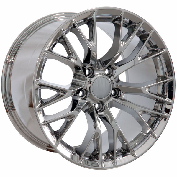 "OE Wheels Corvette C7 ZO6 Replica Wheel - Chrome 18x8.5"" (56mm Offset)"