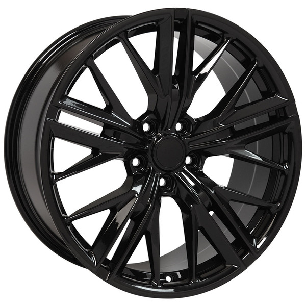 "OE Wheels Camaro 6th Gen ZL1 Replica Wheels - Black 20x8.5"" (35mm Offset) Set of 4"