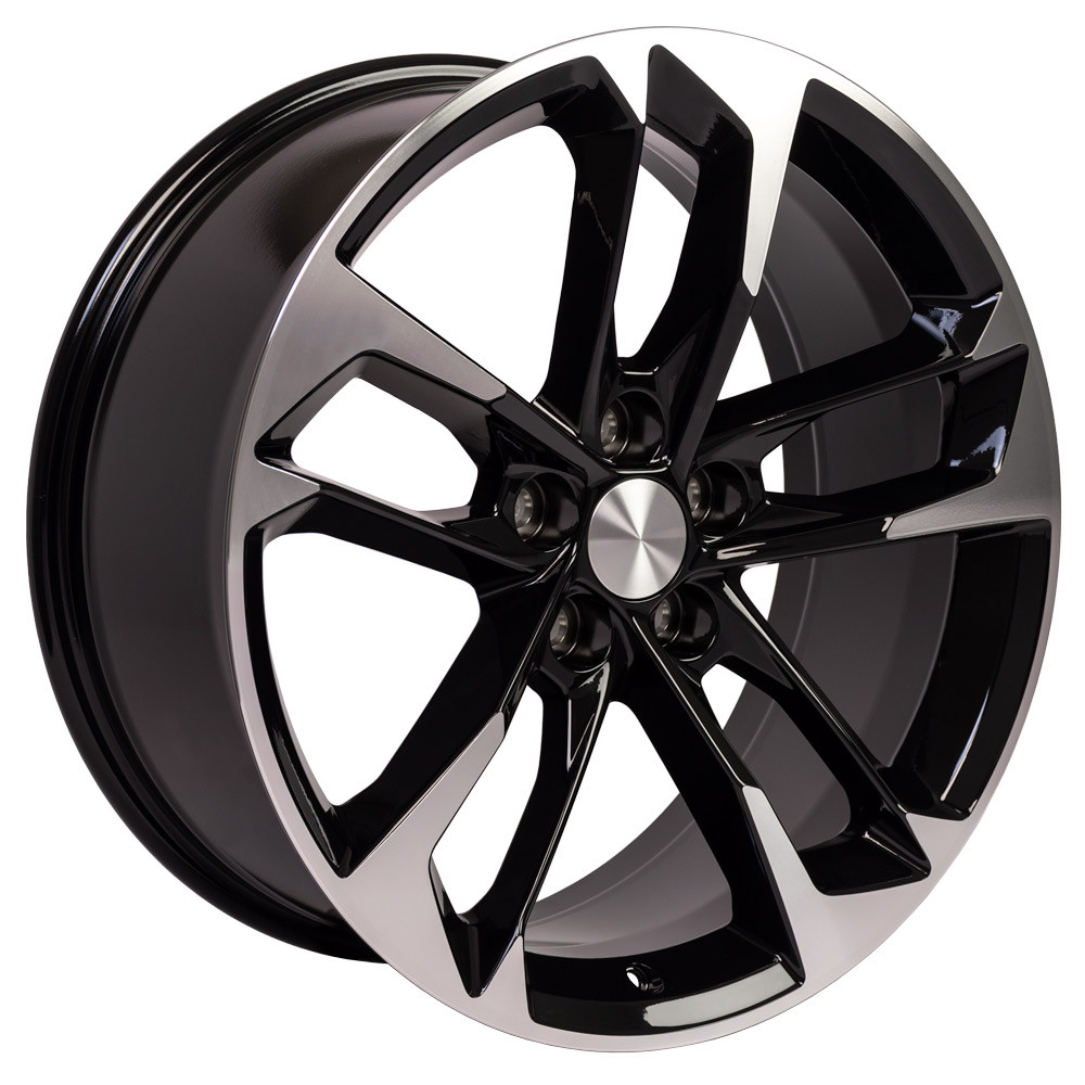 "OE Wheels Camaro 5th & 6th Gen 50th Anniversary CV29 Wheel - Black Machined 20x8.5"" (25mm Offset) Set of 4"