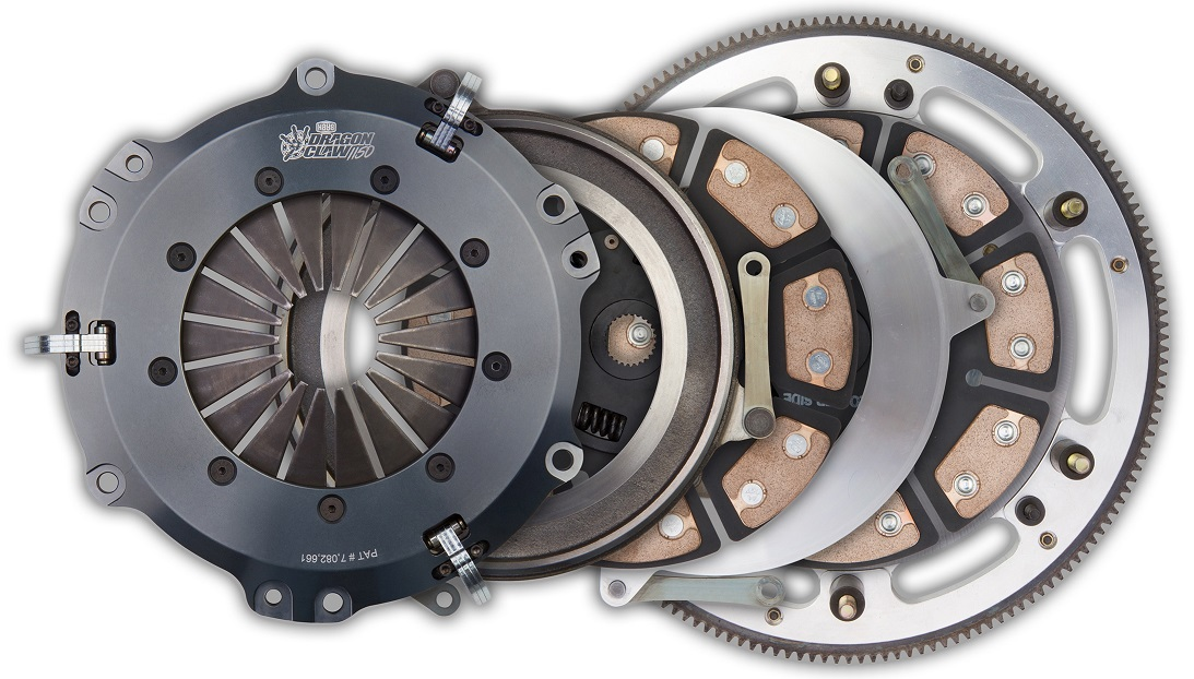 "1981-1994 Ford Mustang 5.0L GT/LX  Hays Dragon Claw Clutch Kit - 2 Disc/10""/1-1/16""/10-Spline - (for QT Bell and Hyd. Conv.)"