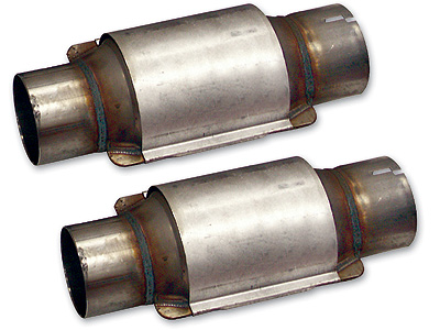 98-02 LS1 SLP High-Flow Catalytic Converters (PAIR)