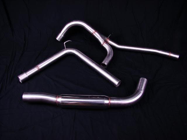 "98-02 Fbody On 3 Performance 3"" Catback Exhuast System - No Mufflers"