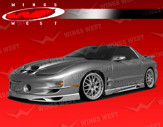 98-02 Pontiac Trans Am Wings West JPC Polyurethane Front Lip