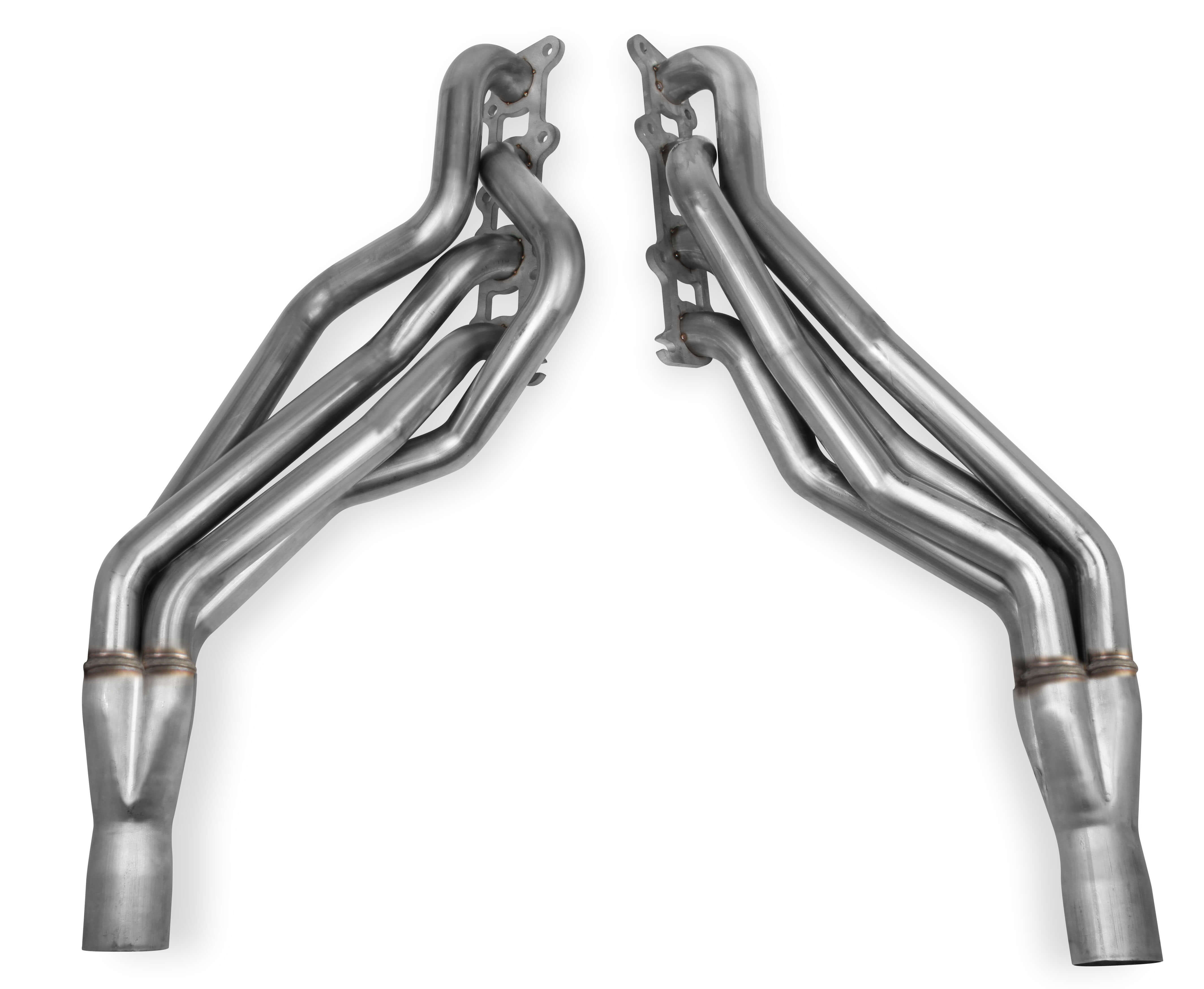 "2018+ Ford Mustang GT 5.0L V8 Hooker Blackheart 1 3/4"" Stainless Long Tube Headers"