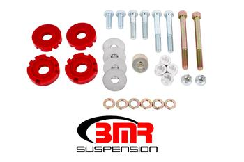 2015+ Ford Mustang BMR Suspension Differential Bushing Lockout Kit - Polyurethane
