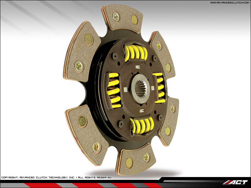 2004-2007 Cadillac CTS-V ACT HD Spring Centered (6 Pad) Disc Clutch Kit (950 ft/lbs)