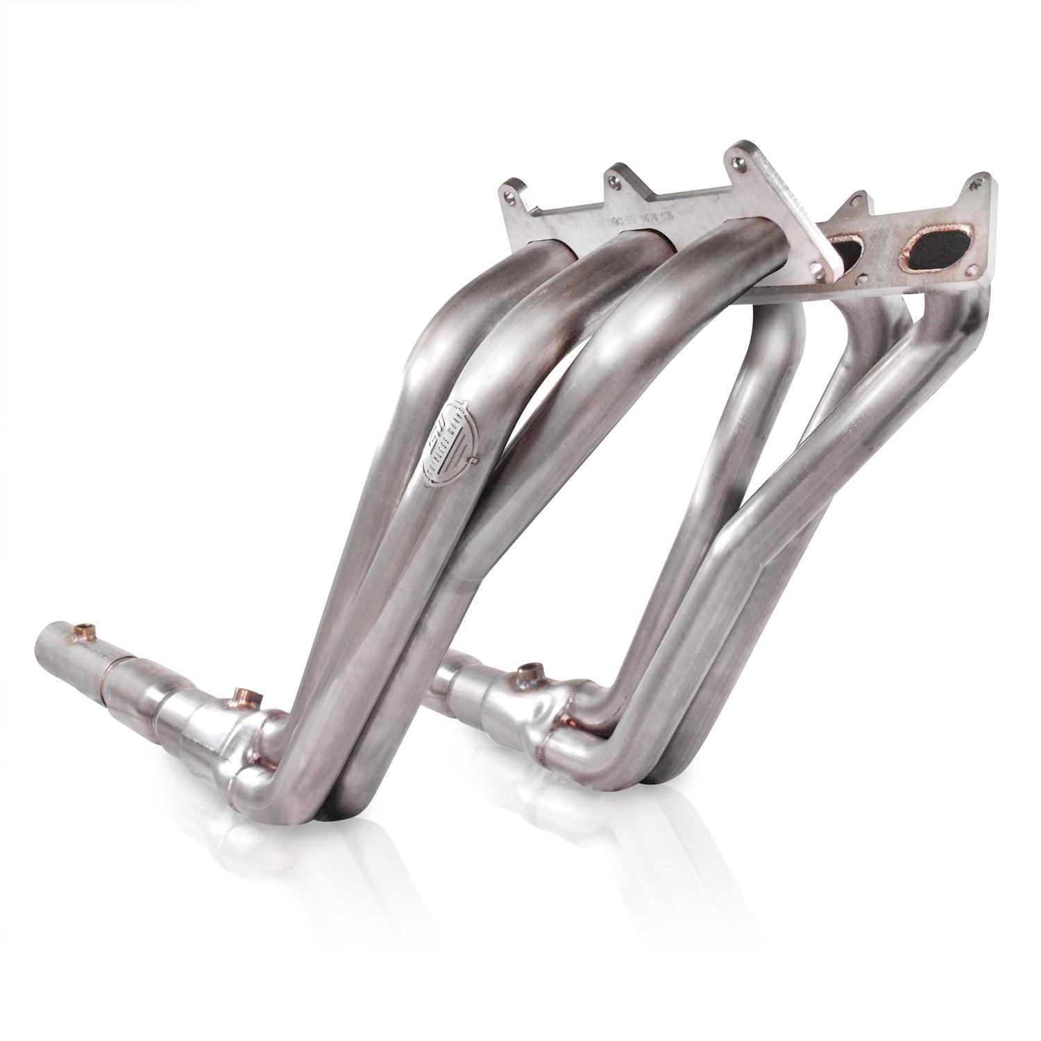 "2010+ Camaro V6 Stainless Works Long Tube 1-5/8"" Primaries w/Highflow Cats"
