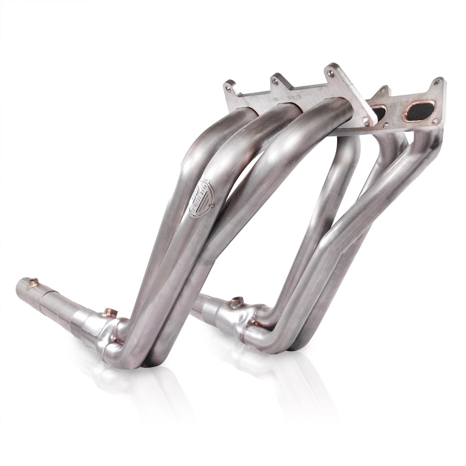 "2010+ Camaro V6 Stainless Works Long Tube 1-3/4"" Primaries w/Offroad Pipes"