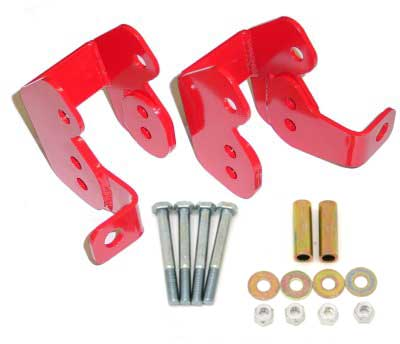 82-02 Fbody BMR Fabrication Rear Control Arm Relocation Brackets (Bolt In)