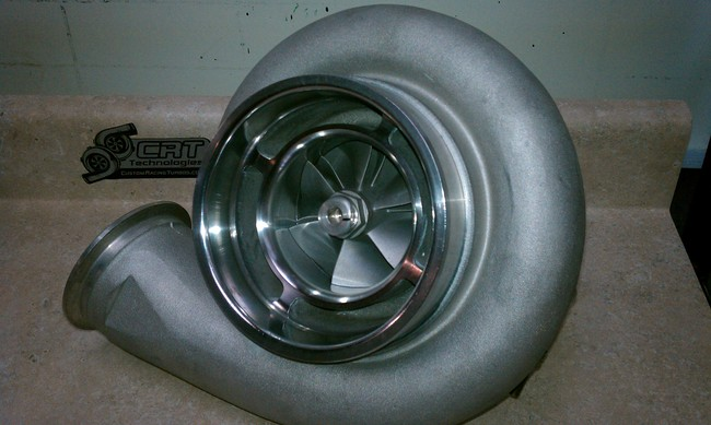 Custom Racing Turbos GT4788 Turbo - Billet