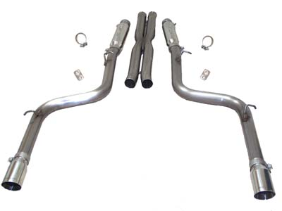 "2005-10 Dodge SRT8 Charger/Magnum/300C 6.1L V8 SLP ""Loud Mouth II"" (Modular) Use w/SLP Headers(#D30003)"