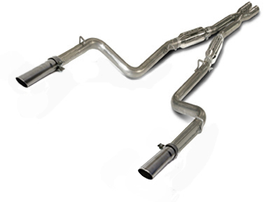 "2011+ Dodge Charger 5.7L V8 SLP ""Loud Mouth II"" (Modular) Use w/Stock Exhaust Manifolds"