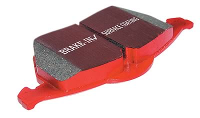 2005-2009 Pontiac G8 GT/GXP EBC Red Stuff Brake Pads (Rear)