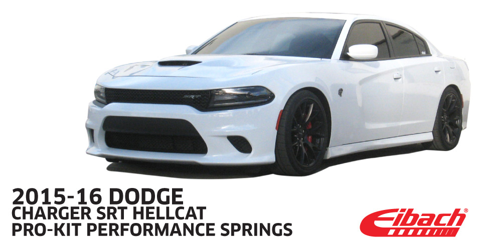 2015+ Dodge Challenger SRT8 6.4L Hellcat Eibach Suspension Pro Kit