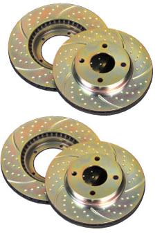 98-02 LS1/V6 EBC Drilled/Slotted Rotor Combo (ALL 4) Save $!