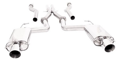 2009+ Cadillac CTS-V Sedan B&B Performance Stainless Exhaust System w/Xpipe