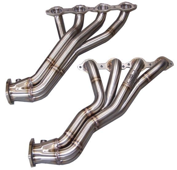 "2010+ Camaro SS B&B Performance Stainless 1 3/4"" Long Tube Headers"