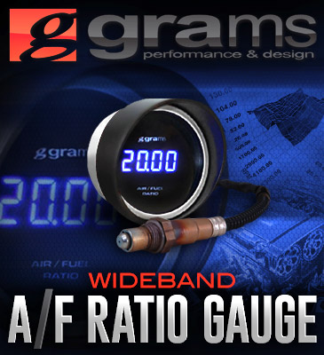 Grams Performance Air/Fuel Ratio Wideband Gauge