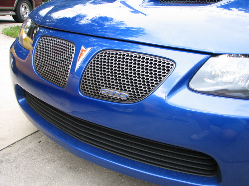 04-06 GTO Front Grille Overlay Decal