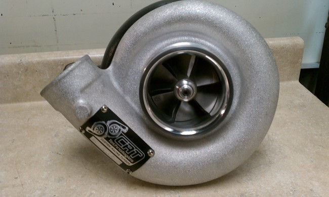 Custom Racing Turbos 88mm Billet HP Series Mid Frame Turbo w/GT55 style 111mm Turbine Wheel  - 1500hp