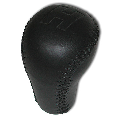 "84-02 SLP Leather Shifter Knob ""H"" Logo"