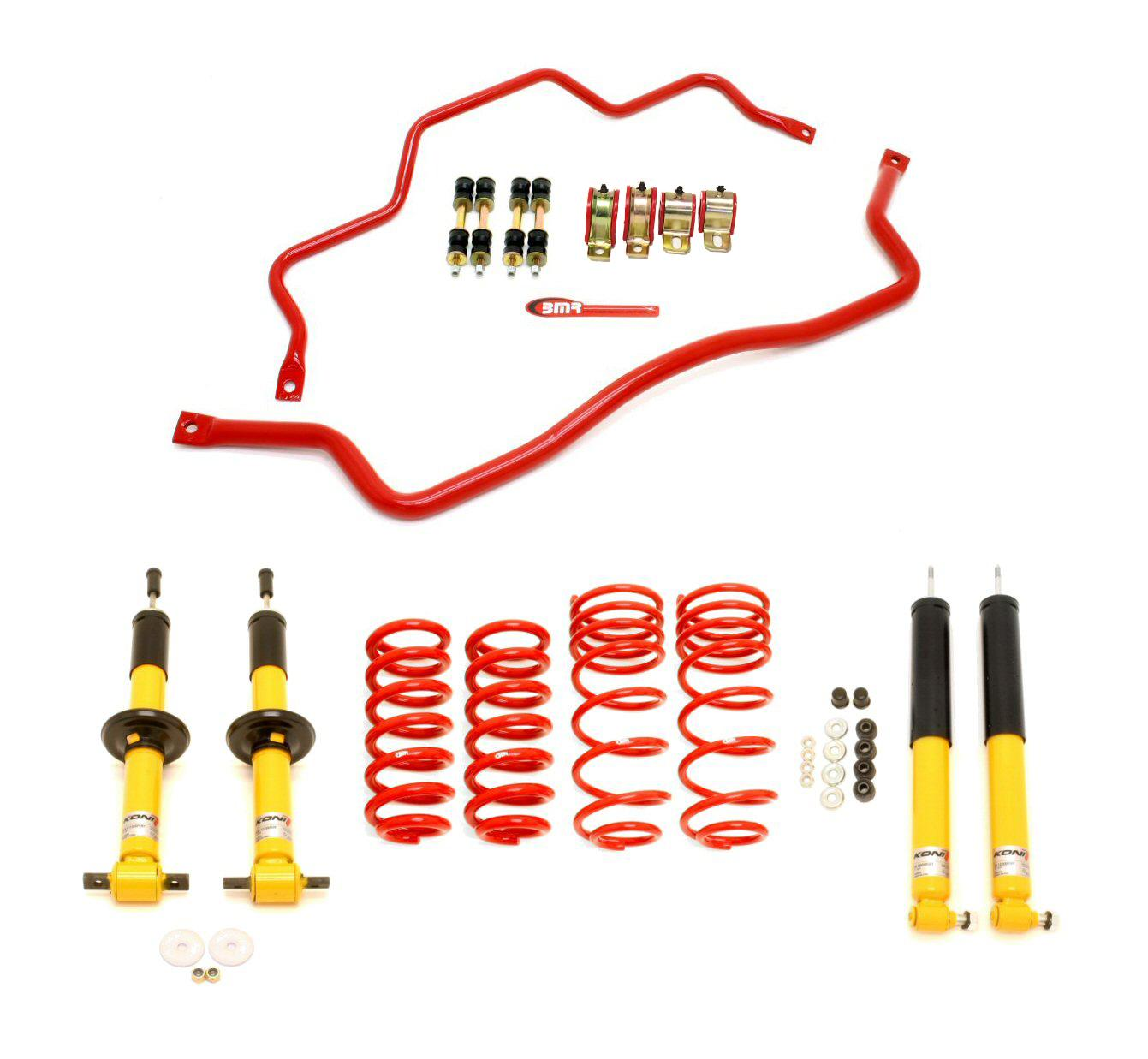 93-02 Fbody BMR Suspension Koni Handling Performance Package - Level 3