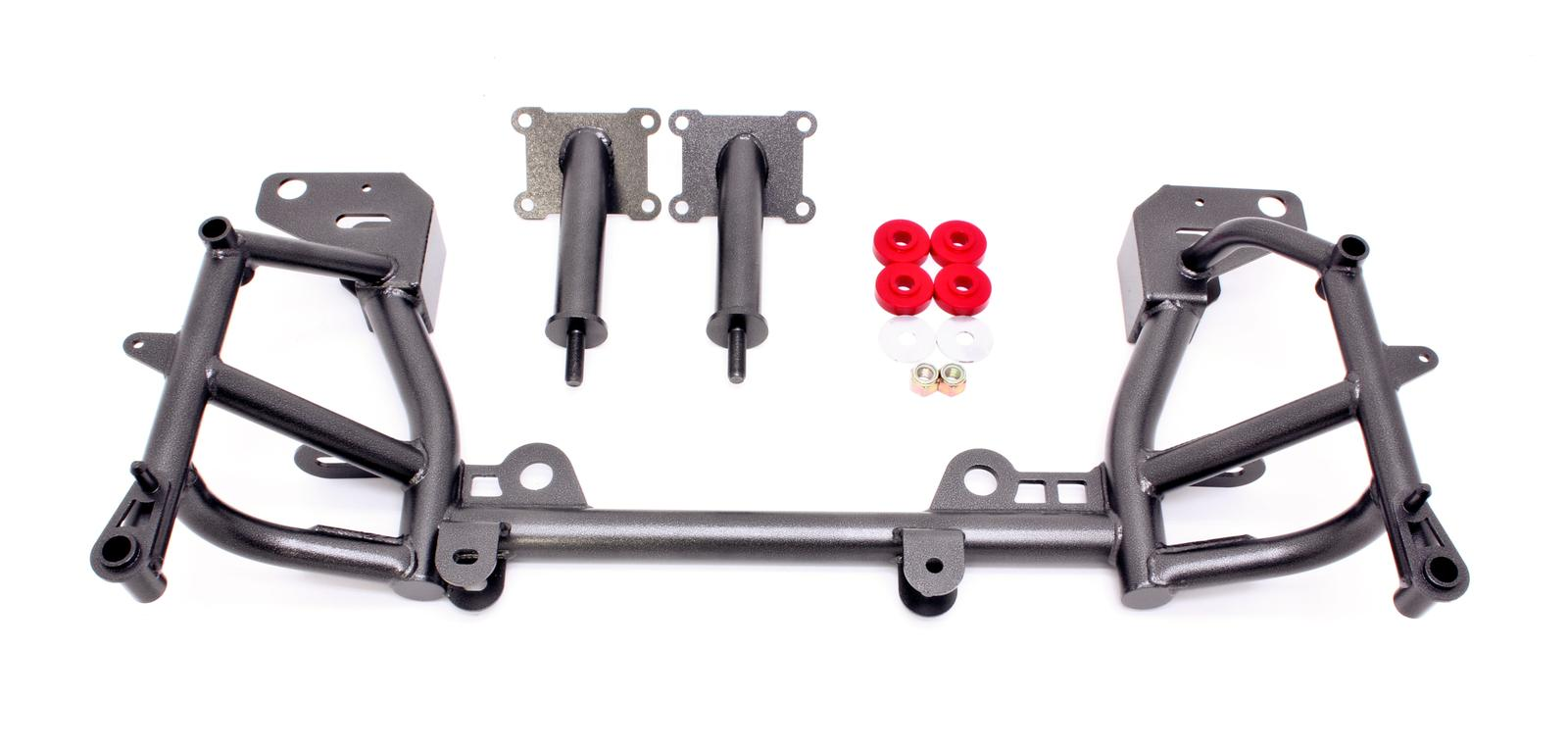 98-02 LS1 Fbody BMR Suspension K-member, Low Mount Turbo, LS1 Motor Mounts, Pinto Rack Mounts