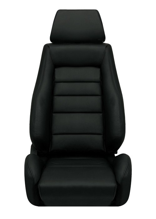 Corbeau GTS II Seats - Black Leather