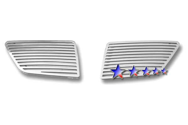 2008-2009 Pontiac G8 Max Performance Perimeter Billet Polished Upper Grilles