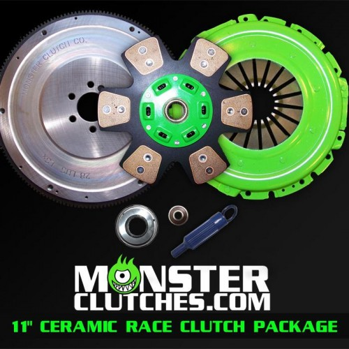 "2004-2006 Pontiac GTO Monster Clutch LSX Ceramic 11"" Clutch - 850rwhp/rwtq"