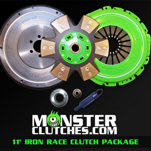 "2004-2006 Pontiac GTO Monster Clutch LSX Iron 11"" Clutch - 950rwhp/rwtq"