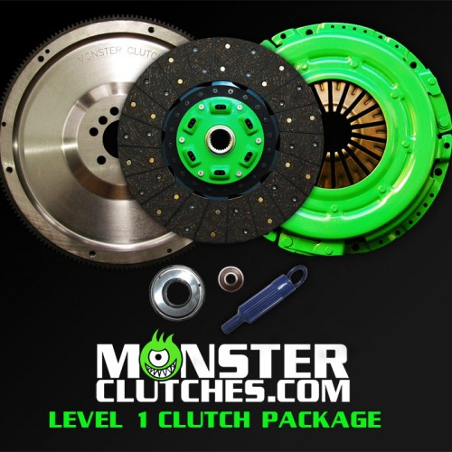 "Monster Clutch Level 1 Clutch LSX Engine 12"" Package - Fbody (450hp)"
