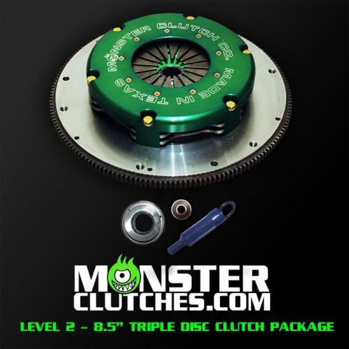 "2004-2006 Pontiac GTO Monster Clutch LSX Level 2 8.5"" Triple Disc Clutch - 1500rwhp/rwtq"