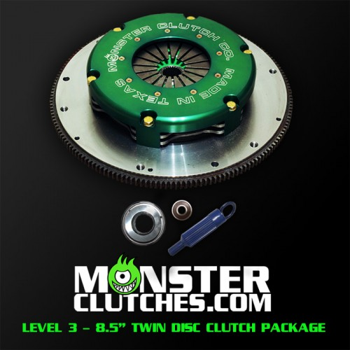 "2004-2006 Pontiac GTO Monster Clutch Level 3 8.5"" Twin Disc Clutch - 1500 rwhp/rwtq"