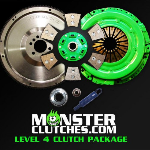 "2004-2006 Pontiac GTO Monster Clutch LSX Level 4 12"" Clutch - 775rwhp/rwtq"