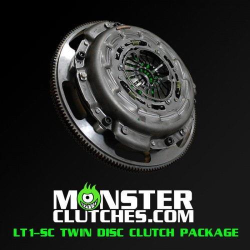 2004-2006 Pontiac GTO Monster Clutch LT1-SC Twin Disc Clutch - 1000 rwhp/rwtq