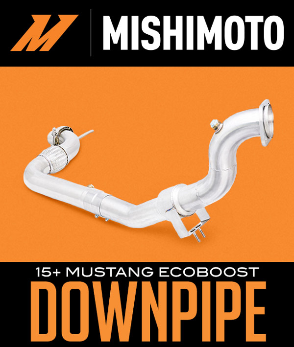 2015+ Ford Mustang 2.3L I4 Mishimoto Catted Downpipe