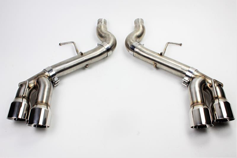"2016+ Camaro 2.0L I4 Mishimoto ""Race"" Catback Exhaust System w/Quad Polished Tips"